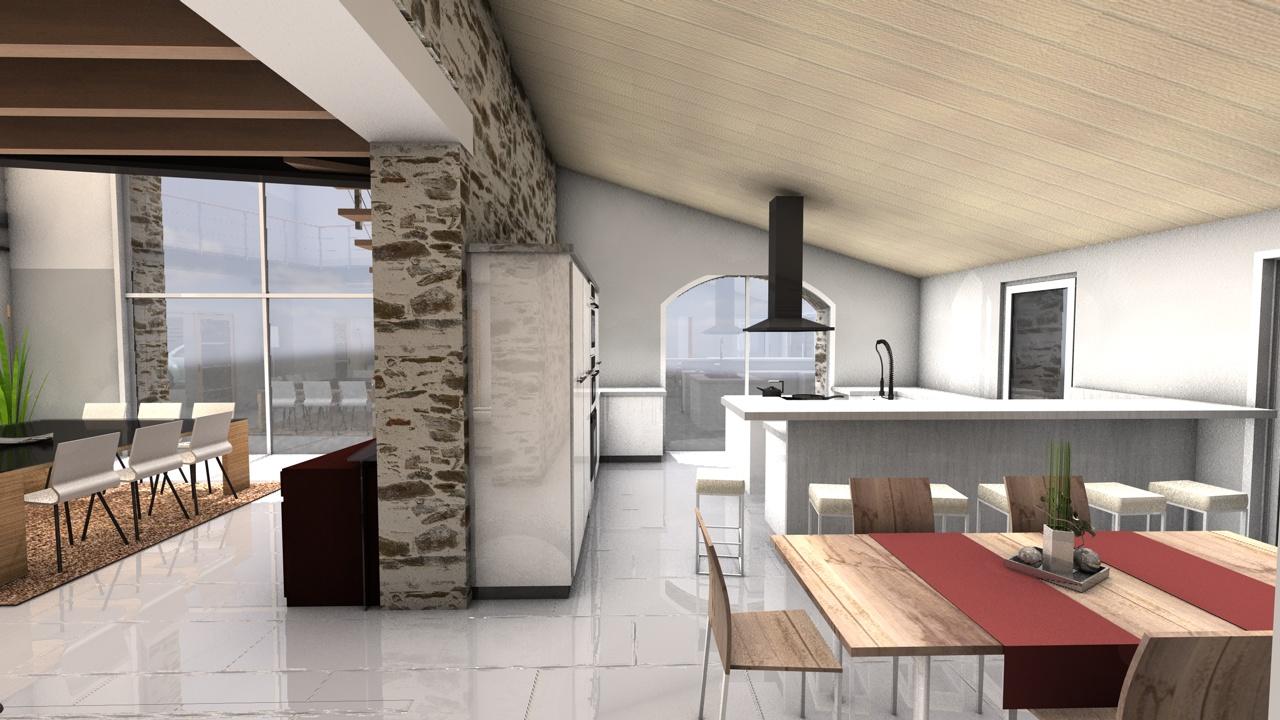 vue int rieure 5 maitre d 39 oeuvre vend e. Black Bedroom Furniture Sets. Home Design Ideas